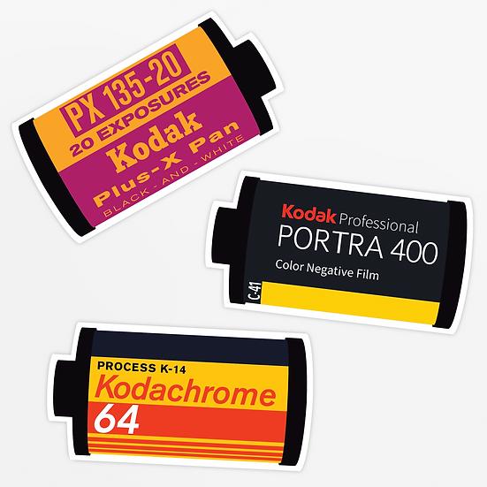 'kodak film' sticker pack