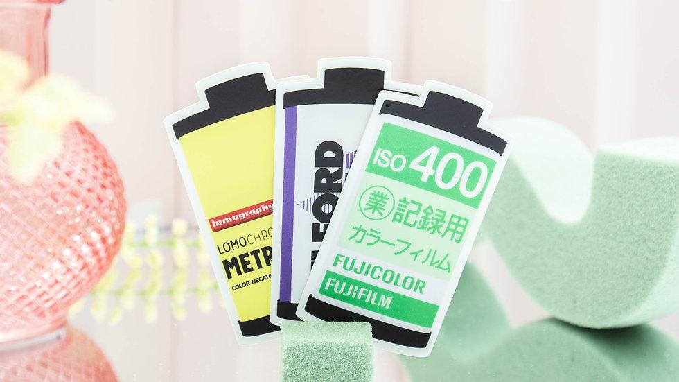 'variety film' sticker pack