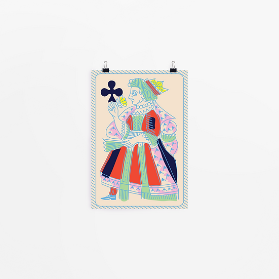 'piquet cards' art prints