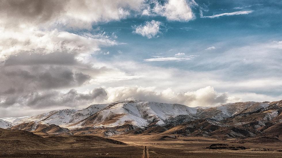 Snow Blanketed Sierras