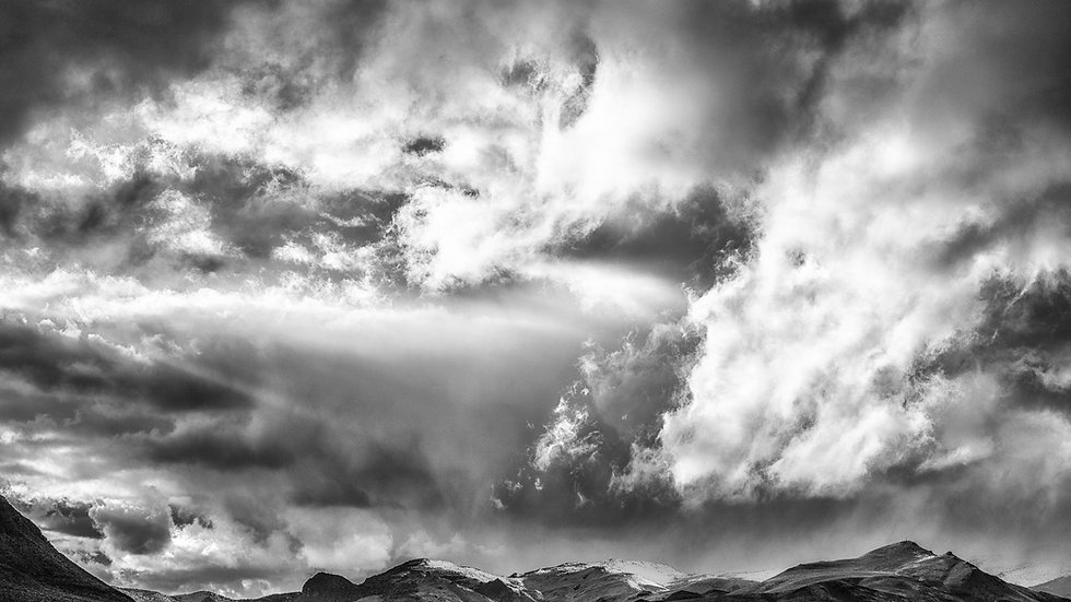 Stormy Sky, Black & White