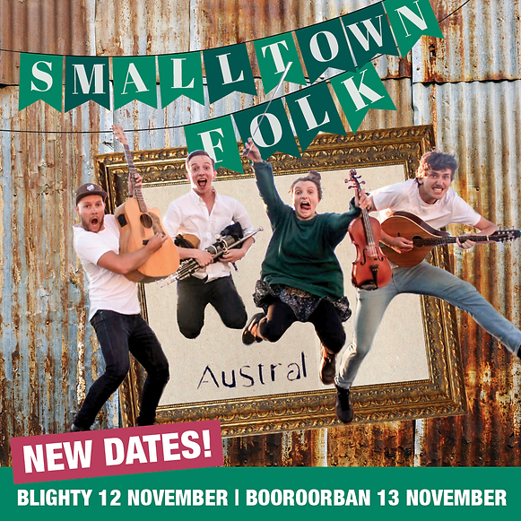Small Town Folk feat. Austral - Saturday night in Boorooban!