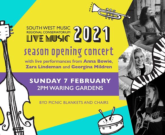 2021 Live Music Season Opening