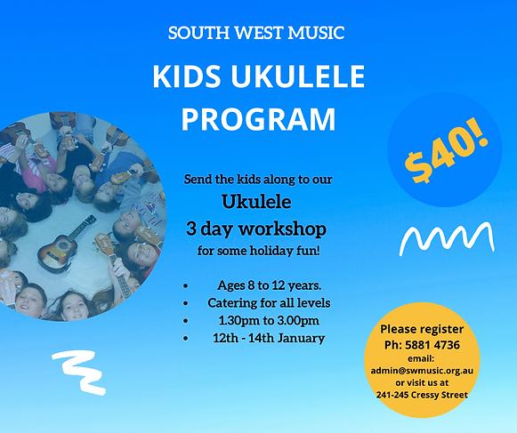 Holiday Program - Ukulele