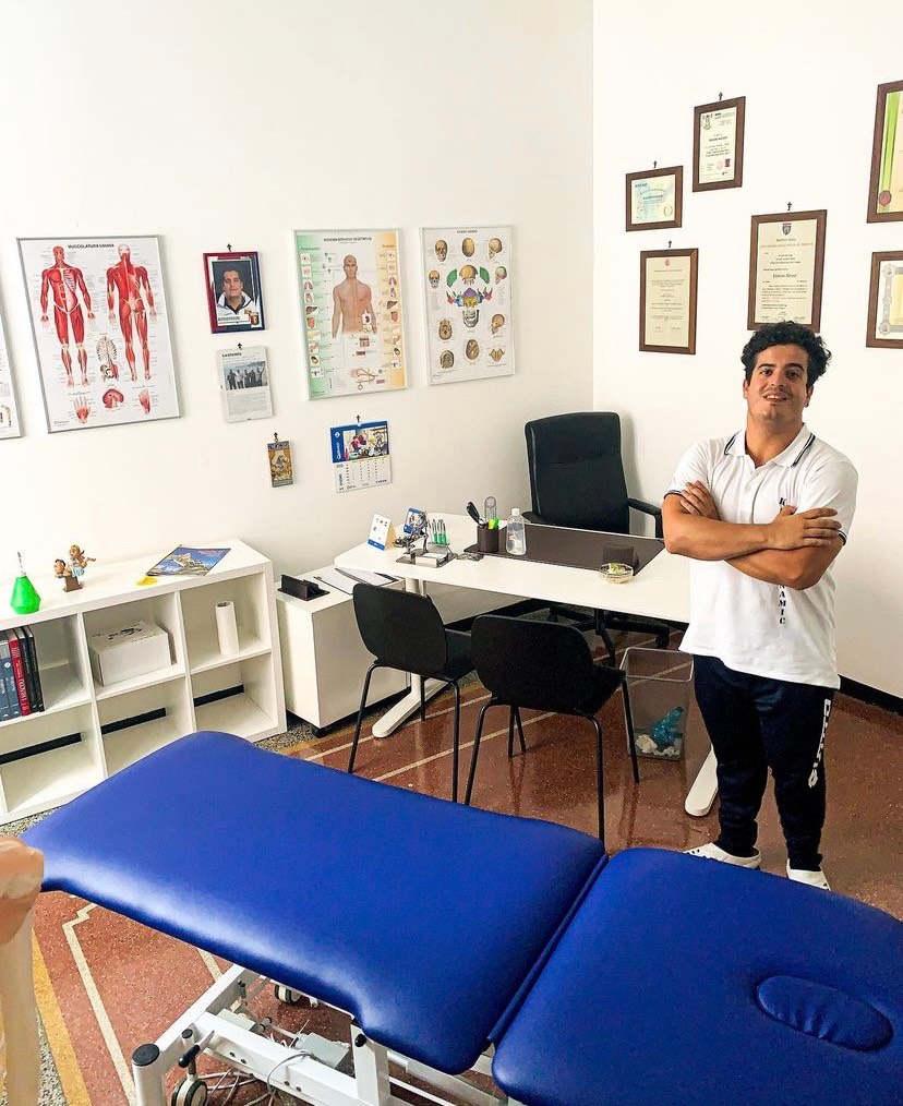Alessio Frixione Fiseoterapista