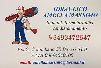 Idraulico Massimo Amella