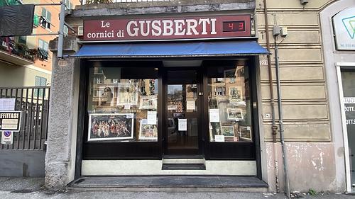 Le cornici di Gusberti