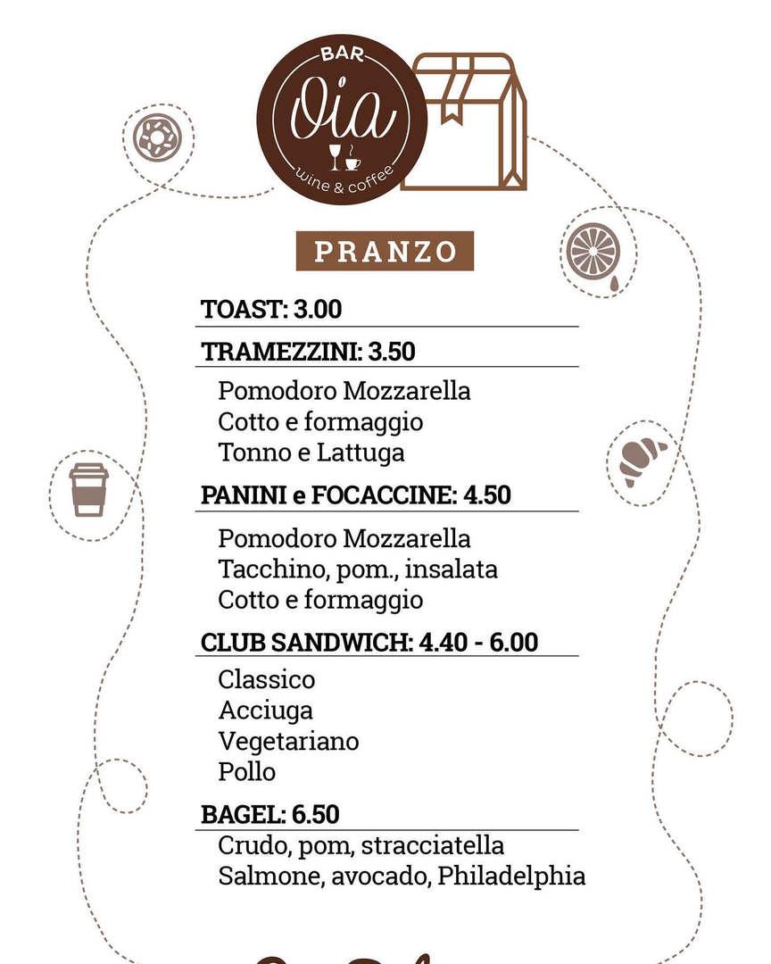 Oia Bar Portale di Genova