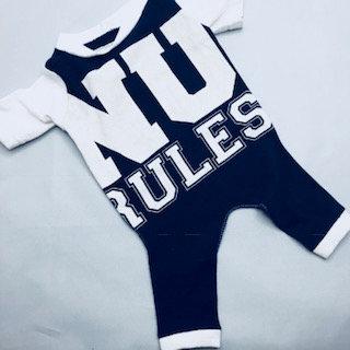 Nu Rules Pajamas Small