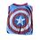 Thumbnail: Large- Recycled Captain America t-shirt made from vintage materials.