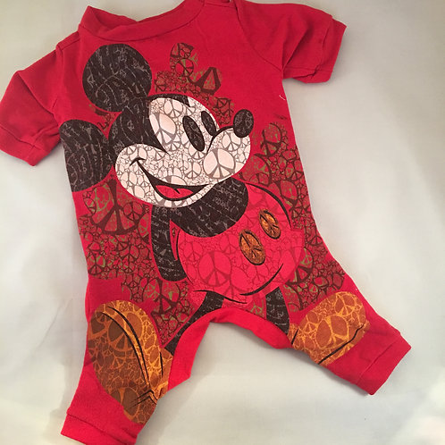 Recycled, Vintage Mickey Jammie Medium