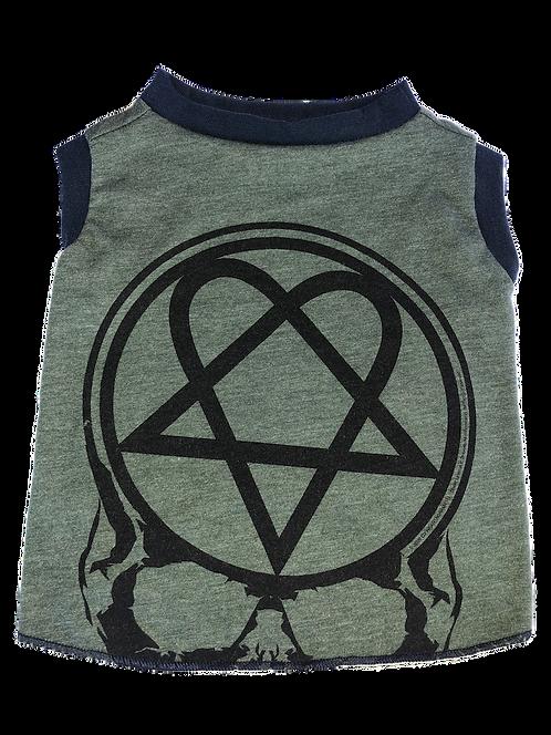 Medium- Dog band shirt- hard rock handmade shirt-Avail in Med
