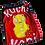 Thumbnail: Medium- Recycled KUCHI t-shirtmade from vintage materials.