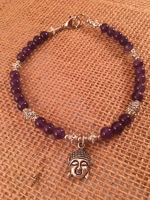 Pet Gem Necklace Amethyst