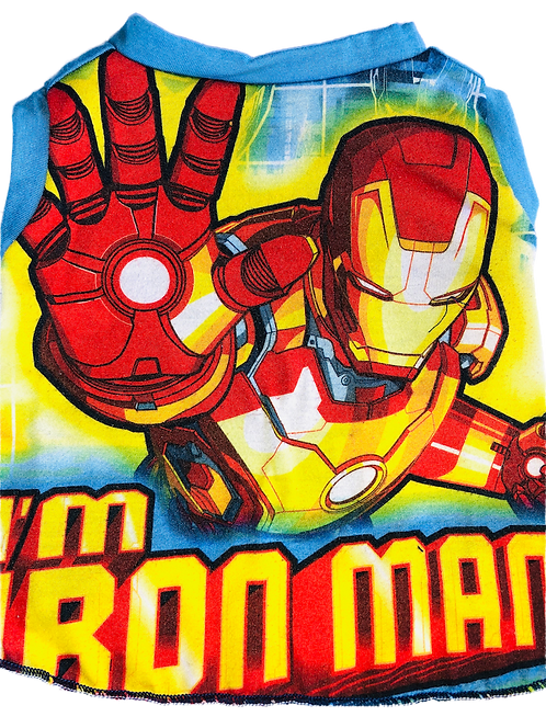 Medium- Dog shirt- Ironman t shirt- Pet clothing