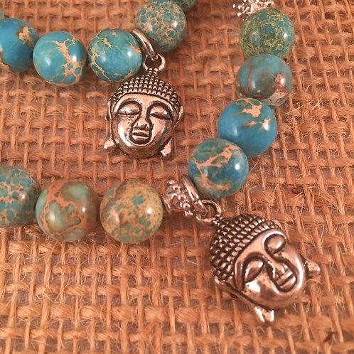 2 Hearts Collection (Pet necklace & Parent bracelet)