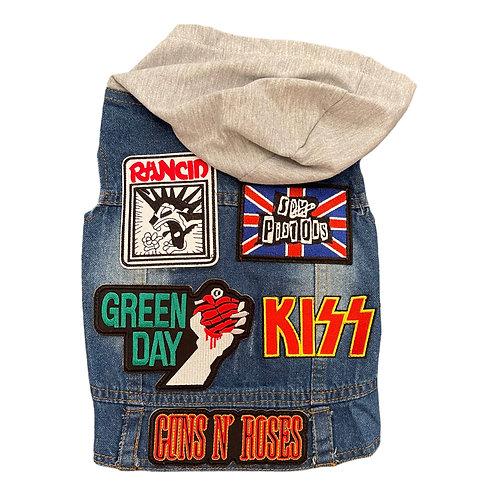 Rocker vest w/ patches