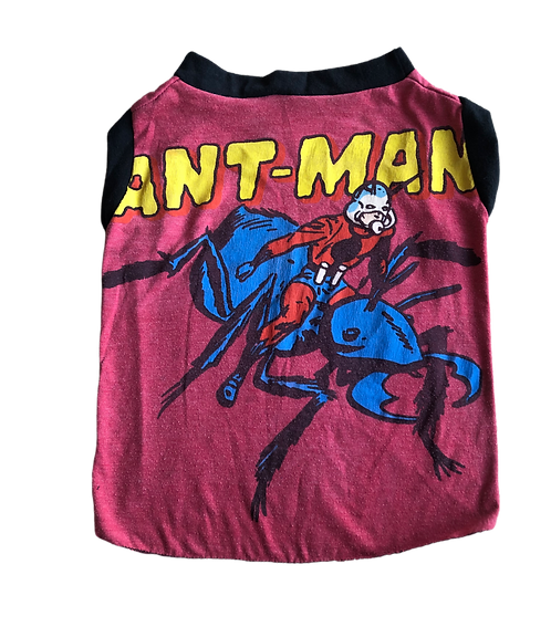 X Large Ant man tank top in original vintage fabric.