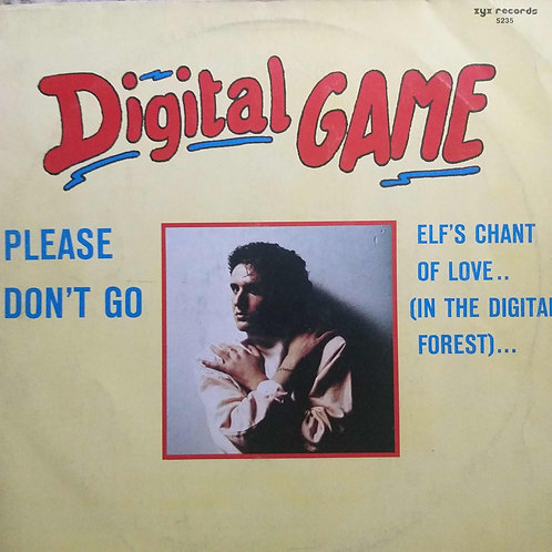 Digital Game ‎– Please Don't Go