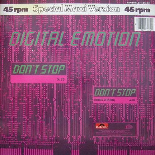 Digital Emotion – Don't Stop