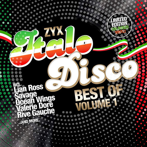 ZYX Italo Disco - Best Of Volume 1(Duplo Colorido)
