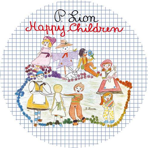 P. Lion – Happy Children (Picture Disc)