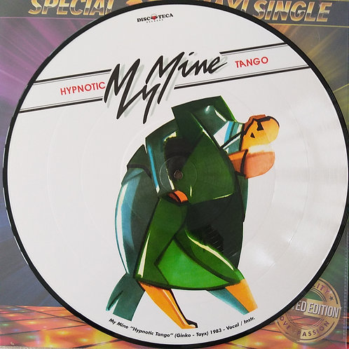 My Mine / Gary Low ‎– Hypnotic Tango / You Are A Danger (Picture Disc)