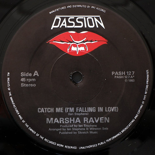 Marsha Raven ‎– Catch Me (I'm Falling In Love)