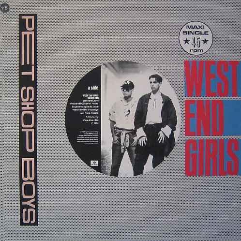Pet Shop Boys – West End Girls