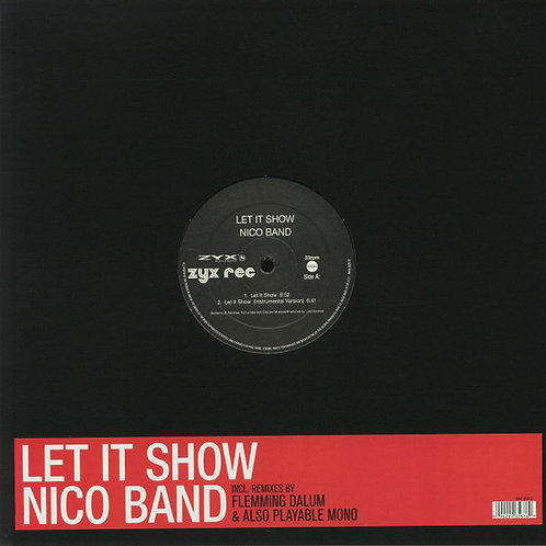 Nico Band ‎– Let It Show