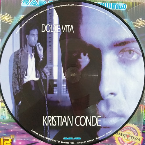 Kristian Conde / Fresh – Dolce Vita / The Wolf (Picture Disc)