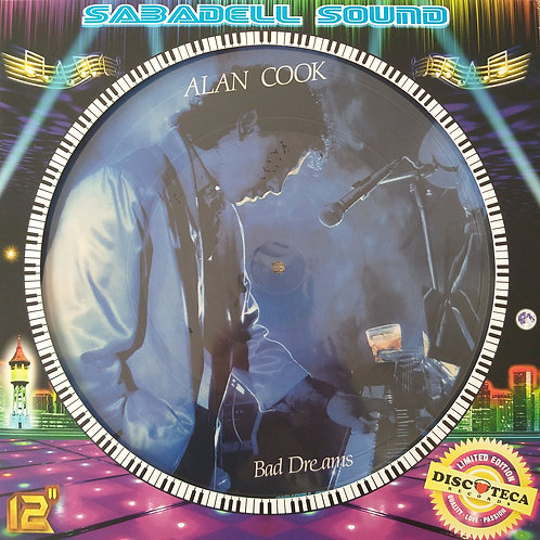 Alan Cook – Bad Dreams / Running Away - Picture Disc