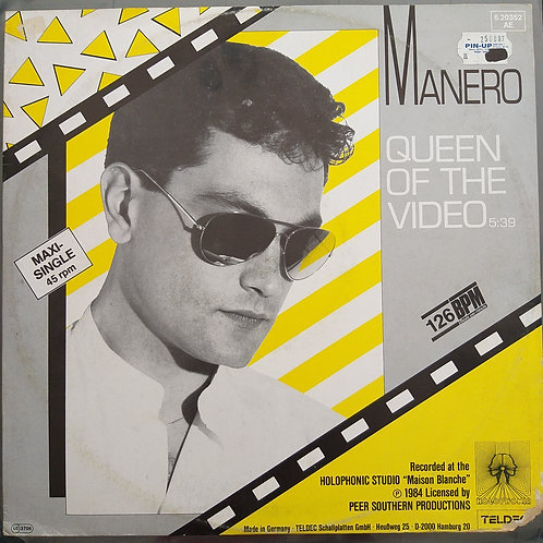 Manero ‎– Queen Of The Video