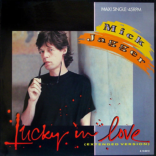 Mick Jagger ‎– Lucky In Love (Extended Version)