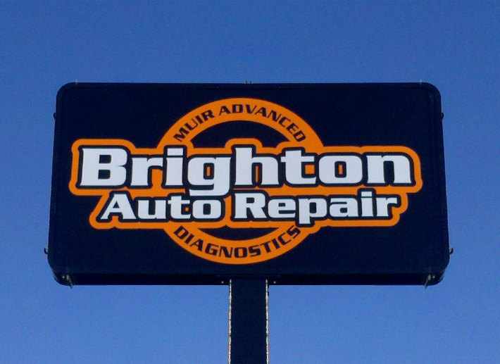 Brighton Auto Repair Sign