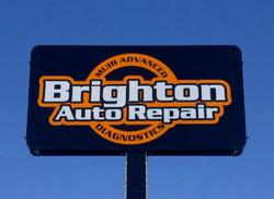 Brighton Auto Repair Sign