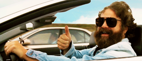 Thumbs up image from the hangover to show you like Brighton Auto Repair