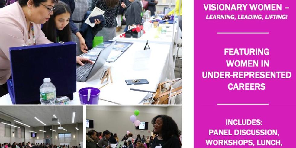 GfG Career Fair & Expo for Girls: Visionary Women - Learning, Leading, Lifting!