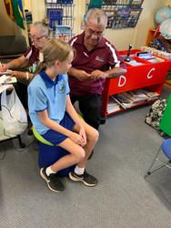 Darllarnil State School hearing check -