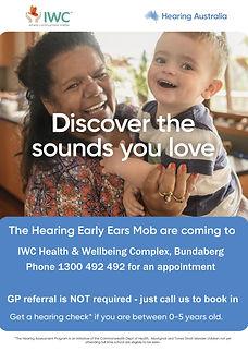 Hearing Australia IWC hearing checks Bun