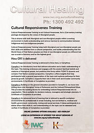 Cultural Responsiveness Training flyer 1