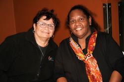 IWC staff member Jenny Springham and Nic