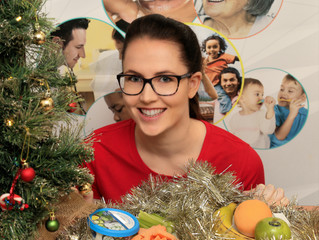 Keep it real this Christmas - and don't diet