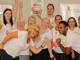 Colour us happy as IWC joins Fluro Fun Run