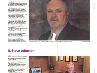 IWC GM one of region's Top 10 Most Influential People