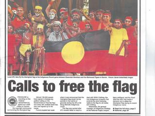Aboriginal flag furore continues