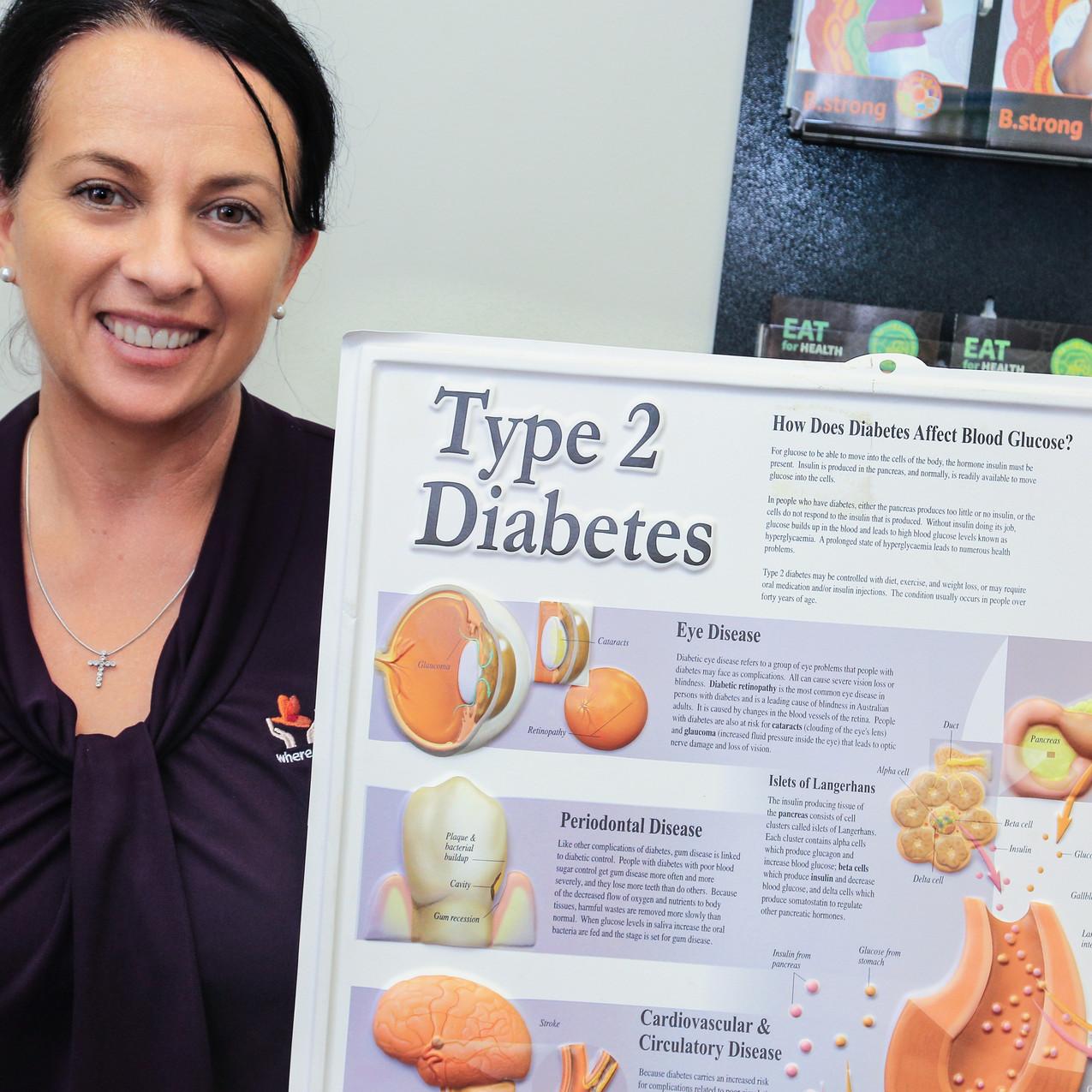 IWC Diabetes Educator Kym Connolly