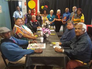 Elders enjoy NAIDOC Week lunch