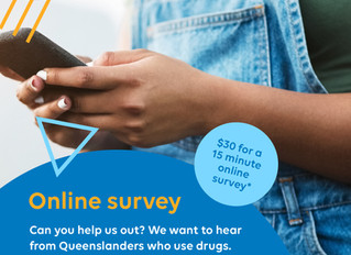 Support drug research with survey response