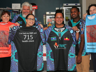 IWC Health team gets creative to support Indigenous wellbeing